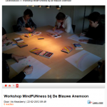 Workshop MindFUNness in inloophuis