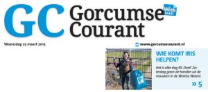 Gorcumse Courant 25 april 2015 (pagina 1)