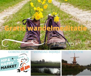 Wandelmeditatie Hip & Happy Market Gorinchem