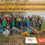 10 maart 2018 Schoonmaakactie Woelse Waard Gorinchem