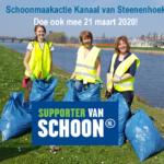 21 maart 2020 Schoonmaakactie Kanaal van Steenenhoek Gorinchem UITGESTELD!