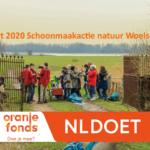 14 maart 2020 Schoonmaakactie Woelse Waard Gorinchem UITGESTELD!