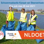 29 mei 2021 schoonmaakactie Kanaal van Steenenhoek Gorinchem